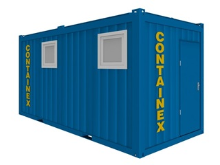 Sanitärcontainer 16'