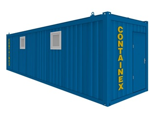 Sanitärcontainer 30'