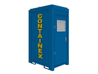 WC – kontejner 5'