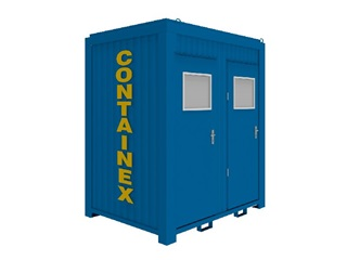 WC – kontejner 8'