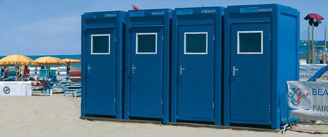 WC – kontejner