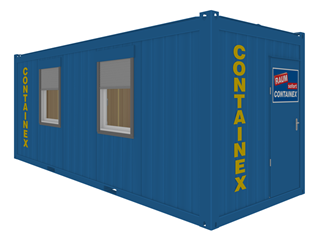 CONTAINEX - Portable cabin 20'