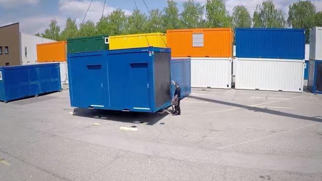 Aufbau von Containeranlagen